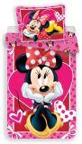 Obliečky Minnie hearts 02