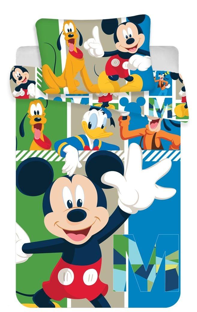 Bavlnené obliečky do postieľky Mickey Mouse Jerry Fabrics