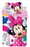 Disney obliečky do postieľky Minnie baby