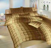 Obliečky bavlna Čokoláda hnedá