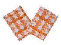 Extra savé utierky Káro oranžové Svitap