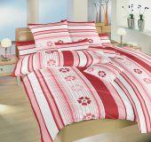 Kvalitné bavlnené posteľné oblečenie terakota Dadka