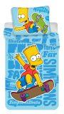 Obliečky Simpsons Bart blue 02