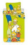Obliečky Simpsons yellow green