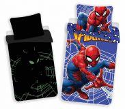 Obliečky Spiderman svietiaci efekt