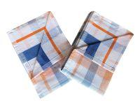 Utierka Froté Káro oranžové 50x70 - 2 ks