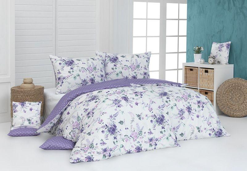 Kvalitné bavlnené obliečky Dallia v nádherných farbách s motívom kvetín Matějovský