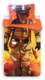 Bavlnené obliečky s motívom hasiča Jerry Fabrics
