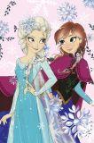 Detská fleecová deka Frozen, Ľadové kráľovstvo Jerry Fabrics