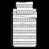 Mikroflanelové obliečky Snow Grey