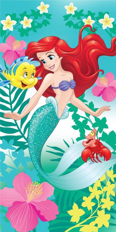 Detská osuška Ariel zelená Jerry Fabrics