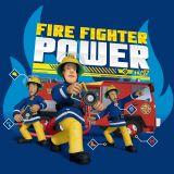 Poťah na vankúš pre chlapcov s motívom Požiarnika Sama Jerry Fabrics