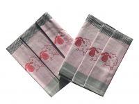 Sada troch kusov extra savých utierok - Ovečky kocka červená Svitap