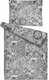 Deka z mikroflanelu s barančekom vzor patchwork šedý Šedý vzor