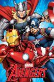Detská fleecová deka Avengers