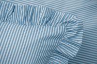 Poťah valček modrý drobny průžok