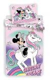 Bavlnené obliečky Minnie unicorn