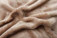 Mikroflanelová plachta čokoládová Svitap