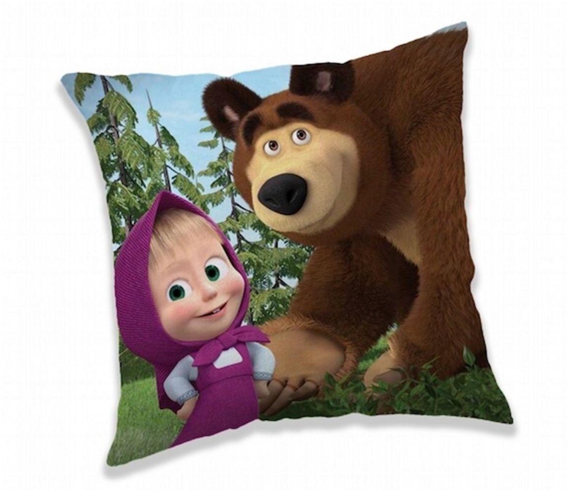 Vankúšik Máša a Medveď Forest 02 Jerry Fabrics