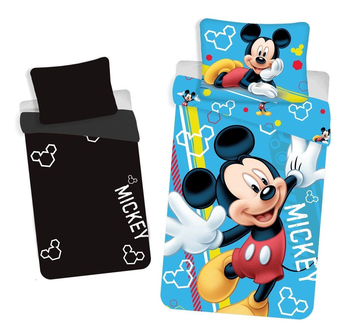 Bavlnené obliečky sa svietiacim efektom Mickey Mouse Jerry Fabrics
