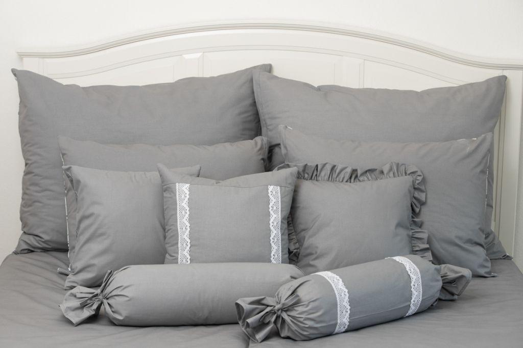 Poťah jednoduchý šedé barvy