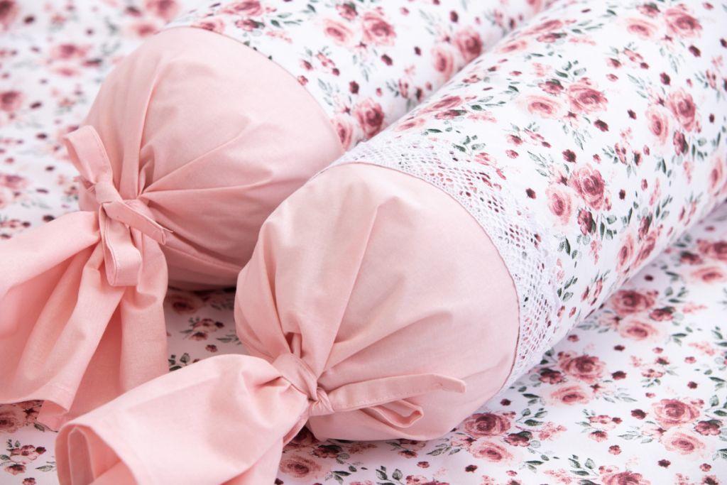 Povlak valček so vzorem růže