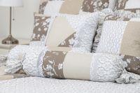 Posteľné prádlo so vzorom patchworku a kombináciu ornamenu