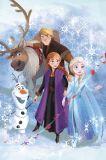 Detská fleecová deka Frozen 2