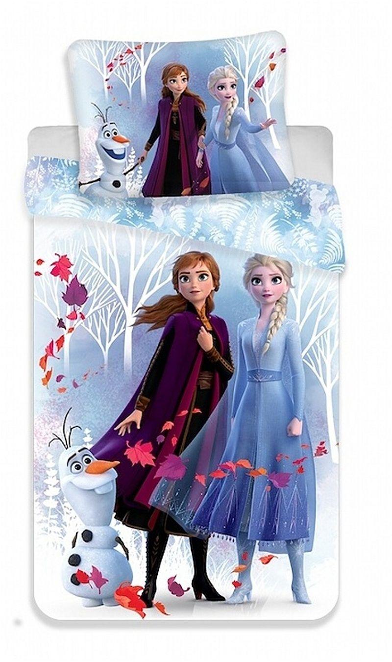 Detské bavlnené obliečky Frozen, Ľadové kráľovstvo Jerry Fabrics