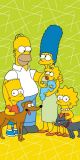 Detská osuška s rodinou Simpsons na zelenom podklade Jerry Fabrics