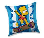 Pekný vankúšik Bart Simpson na skate Jerry Fabrics