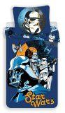 Bavlnené obliečky Star Wars na modrom podklade Jerry Fabrics