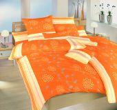 Obliečky krep Liana oranžová