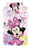 Detské obliečky do postieľky Minnie Butterfly 02 baby   1x 135/100, 1x 60/40
