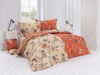 Kvalitná krepové obliečky s kvetinovým vzorom. | 1x 140/200, 1x 90/70