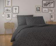 Bavlnené moderné obliečky FRIDA s geometrickým vzorom.