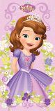 Detská osuška princezná Sofia na ružovom podklade Jerry Fabrics