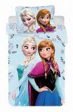Detské bavlnené obliečky Frozen Floral 02   1x 140/200, 1x 90/70