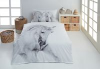 Kvalitné bavlnené obliečky Galus s motívom koňa. | 1x 140/200, 1x 90/70, 1x 140/220, 1x 90/70